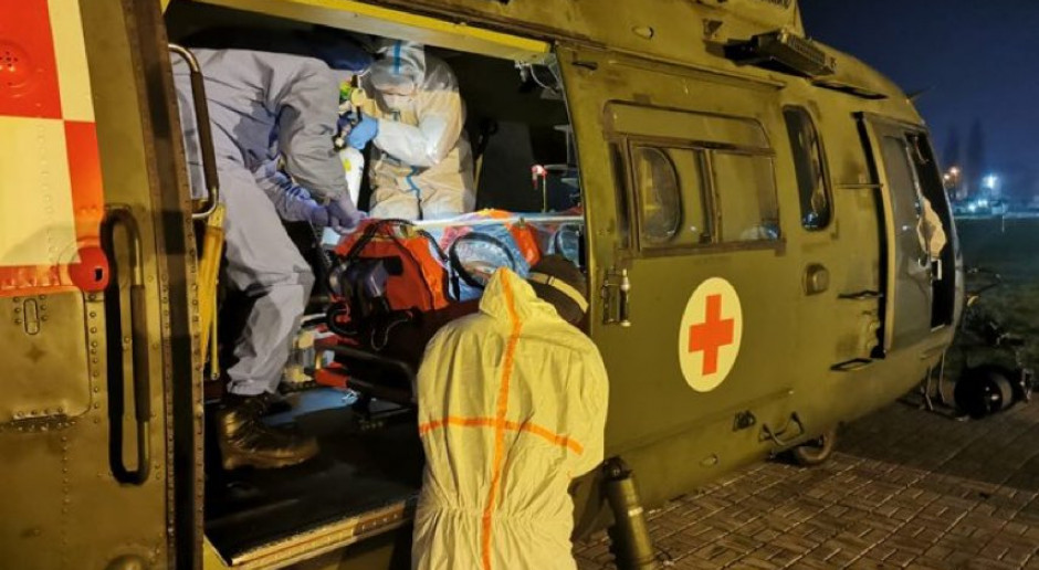 Wojsko w gotowości do transportu pacjentów z COVID-19