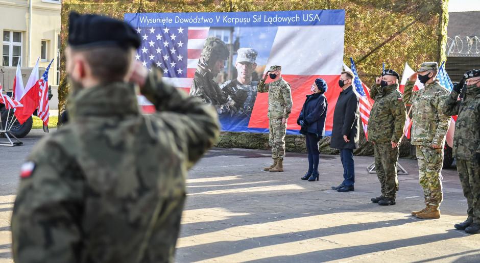 Dowództwo V Korpus US Army w Polsce rozpoczęło działalność