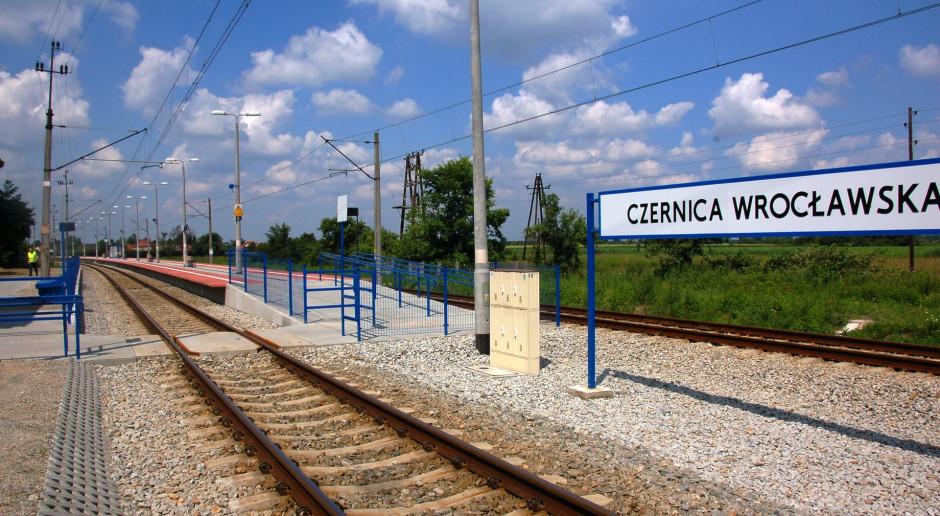 Jest umowa na modernizację linii kolejowej Wrocław-Jelcz-Opole