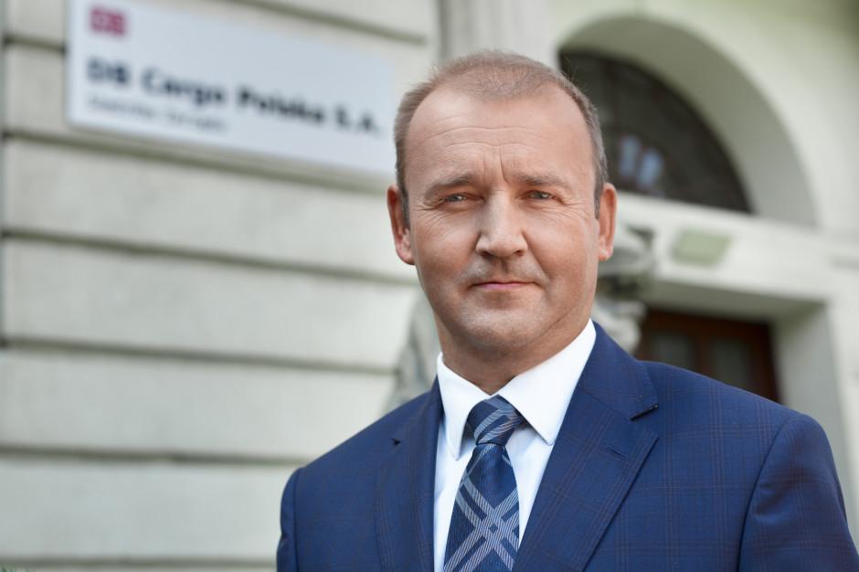 Paweł Pucek, członek zarządu DB Cargo Polska