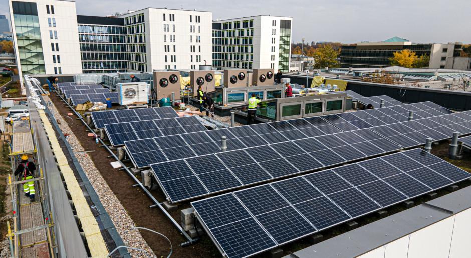 Veolia otwiera się na solarne dachy i fasady budynków made in Poland