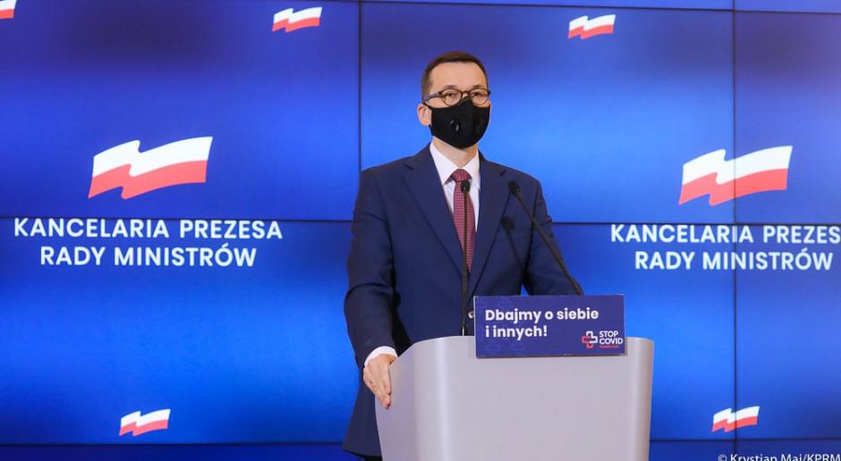 Premier Morawiecki: z podatków od polskich podatników ratujemy gospodarkę