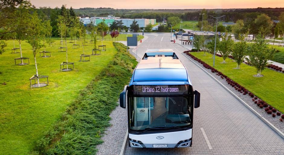 Pierwsze wodorowe Solarisy dla Szwecji