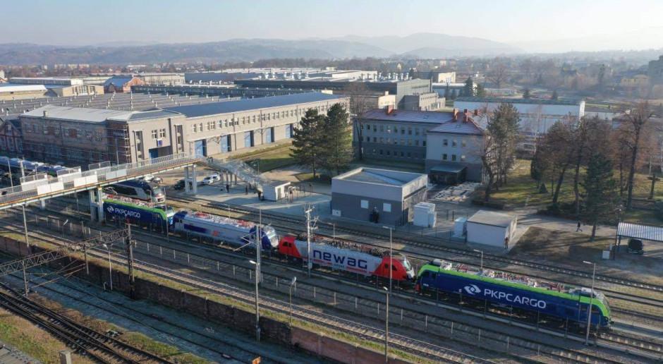 Newag zbudował tor testowy dla lokomotyw