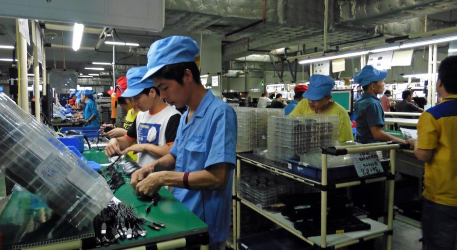 Zyski chińskiego przemysłu rosną najszybciej od 3 lat