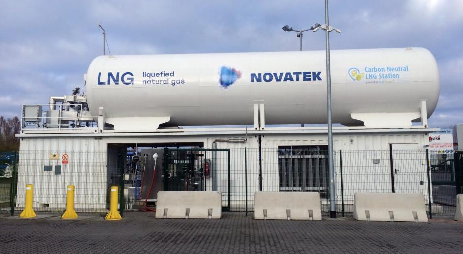 Novatek chwali się pierwszą zeroemisyjną stacją tankowania LNG
