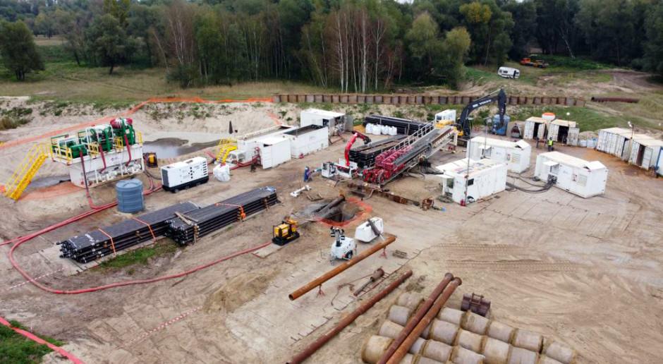 Trwają prace na przebudowie gazociągu Goleniów - Police