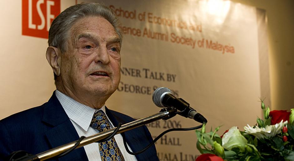 George Soros ma pomysł, jak obejść weto Polski i Węgier ws. budżetu UE