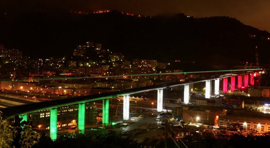 Nowy most w Genui we Włoszech, wybudowany przez Webuild. Fot. mat. pras.