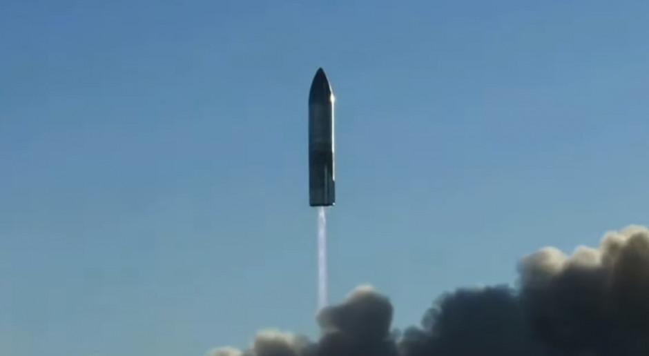 Eksplozja prototypowej rakiety Starship podczas lądowania