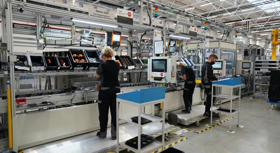 Fabryka Mercedesa w Jaworze przyspiesza produkcję baterii