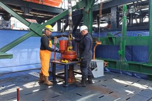 Statek Lotosu zbadał dno morza pod kątem powstania farmy wiatrowej Baltic II
