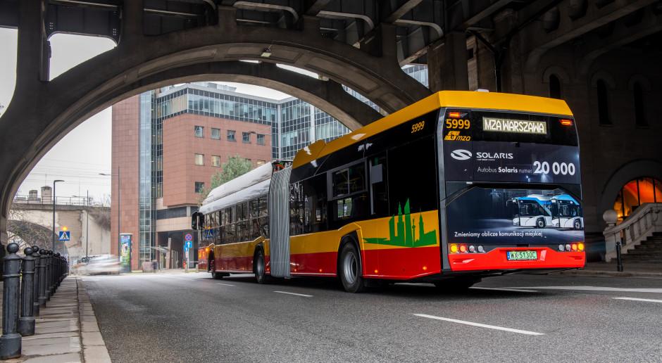Fabrykę opuścił dwudziestotysięczny autobus Solarisa