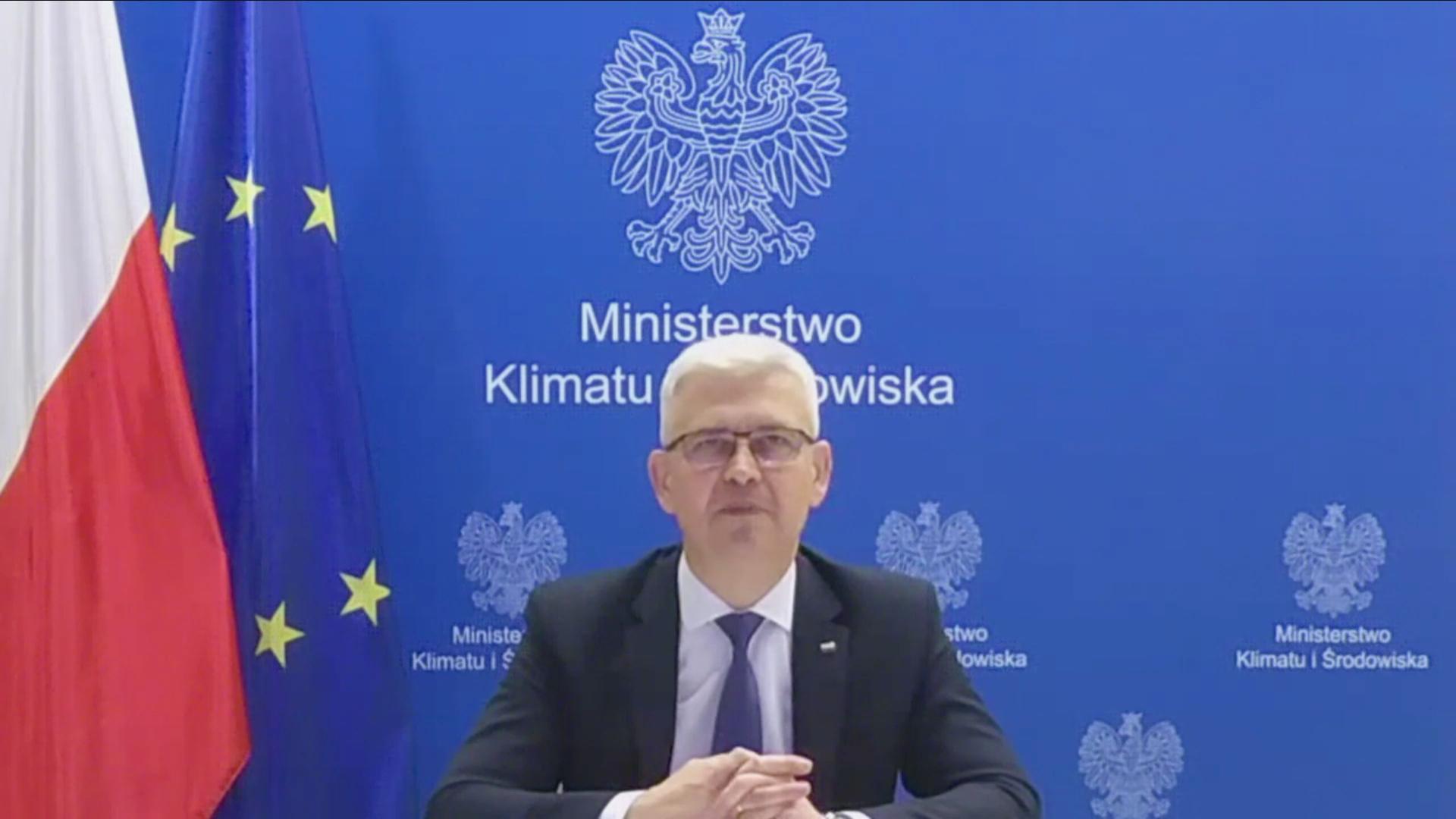 Ireneusz Zyska, pełnomocnik rządu ds. OZE, wiceminister klimatu i środowiska ( Fot. mat. pras. archiwum)