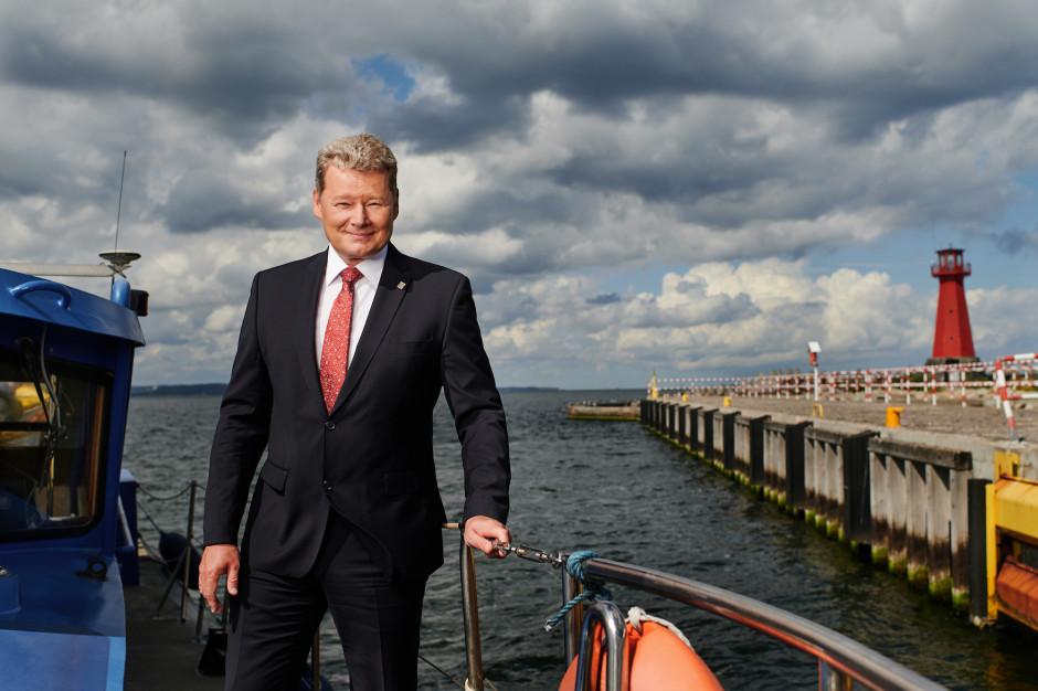 Sławomir Michalewski, wiceprezes Zarządu Morskiego Portu Gdańsk SA. Fot. Mat. pras.