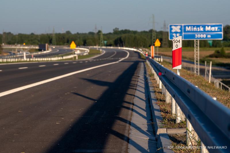 Autostrada A2. Fot. GDDKiA