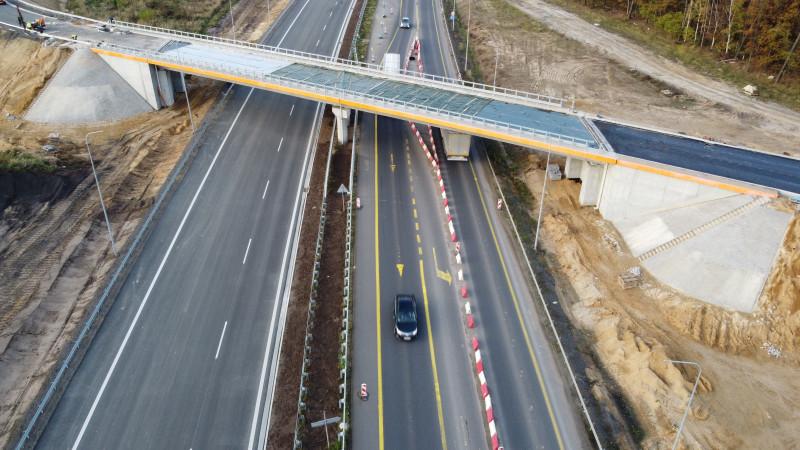 Droga S3 Polkowice Południe - Lubin Północ. Fot. GDDKiA