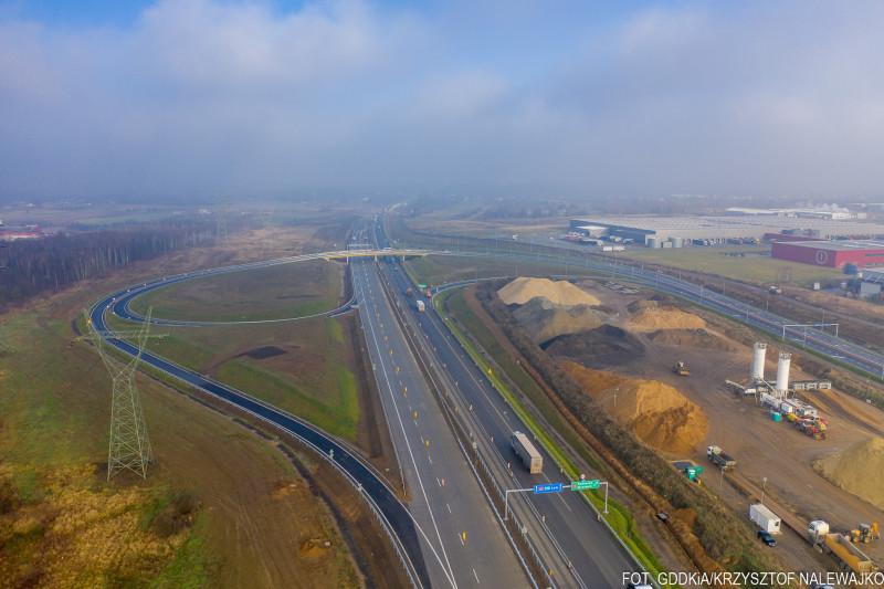 Autostrada A1 Kamieńsk - Radomsko. Fot. GDDKiA