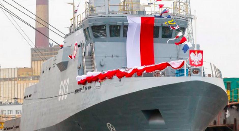 Mewa i Przemko wodowane. Marynarka dostanie kolejne jednostki