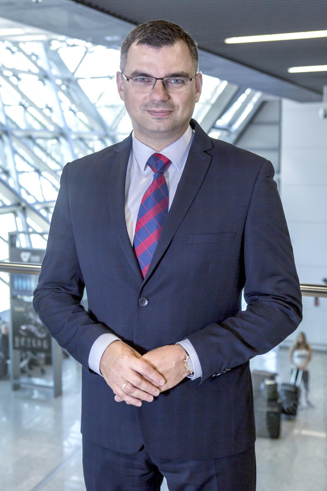 Radosław Włoszek, prezes Kraków Airport. Fot. Mat. pras.