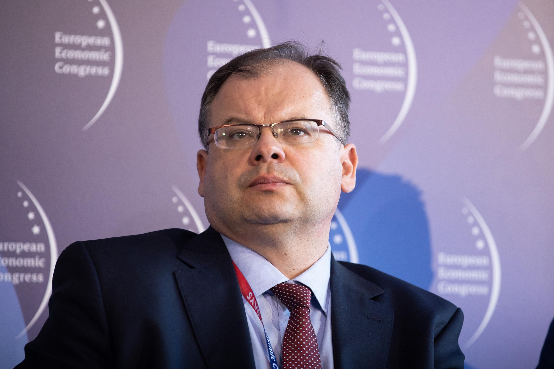 Piotr Samson, prezes Urzędu Lotnictwa Cywilnego. Fot. PTWP