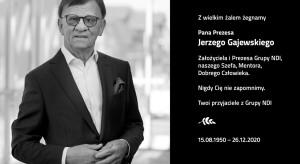 Nie żyje prezes i twórca Grupy NDI Jerzy Gajewski