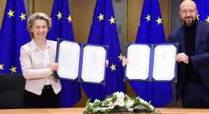 Podpisano umowę o handlu między UE a Wielką Brytanią