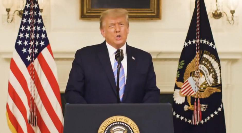 Trump zobowiązuje się do płynnego przekazania władzy 20 stycznia