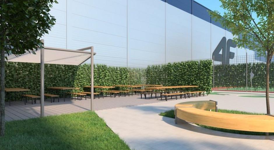 Panattoni finalizuje pierwszy etap budowy magazynu dla 4F