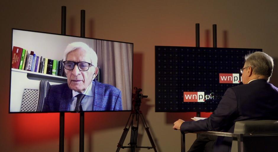 Jerzy Buzek o amerykańskiej lekcji i rosyjskim gazie
