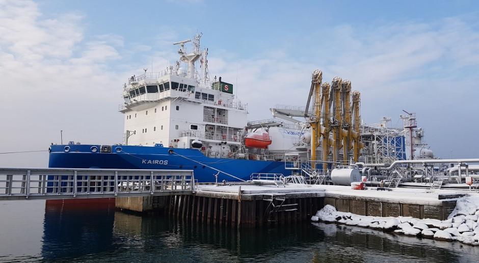 Kolejny ładunek LNG odebrany przez PGNiG w Kłajpedzie