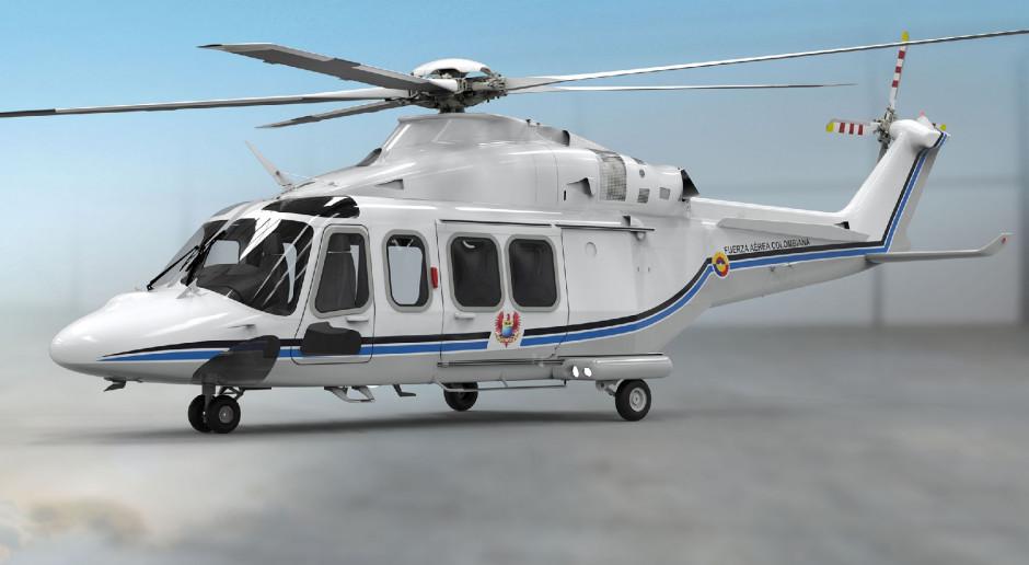 Prezydent Kolumbii będzie latał śmigłowcem Leonardo