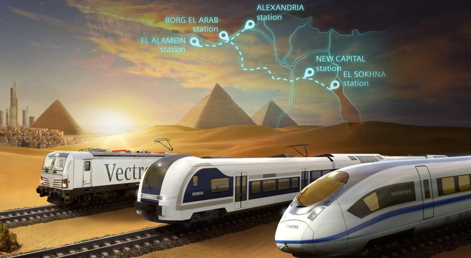 Siemens Mobility zbuduje pierwszą kolej dużych prędkości w Egipcie