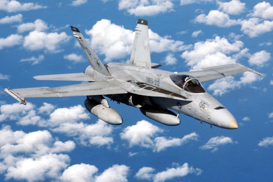 Nowe myśliwce zastąpią fińskie FA18C Hornet. fot LCPL John Mcgarity, USMC Wikipedia