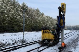Strategiczna dla polskiej gospodarki linia kolejowa w przebudowie