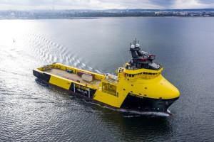 Remontowa Shipbuilding zbudowała statek specjalistyczny PSV