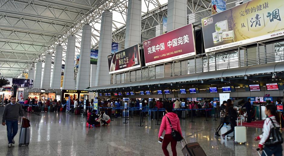 Chińskie lotnisko w Kantonie najruchliwsze w roku pandemii