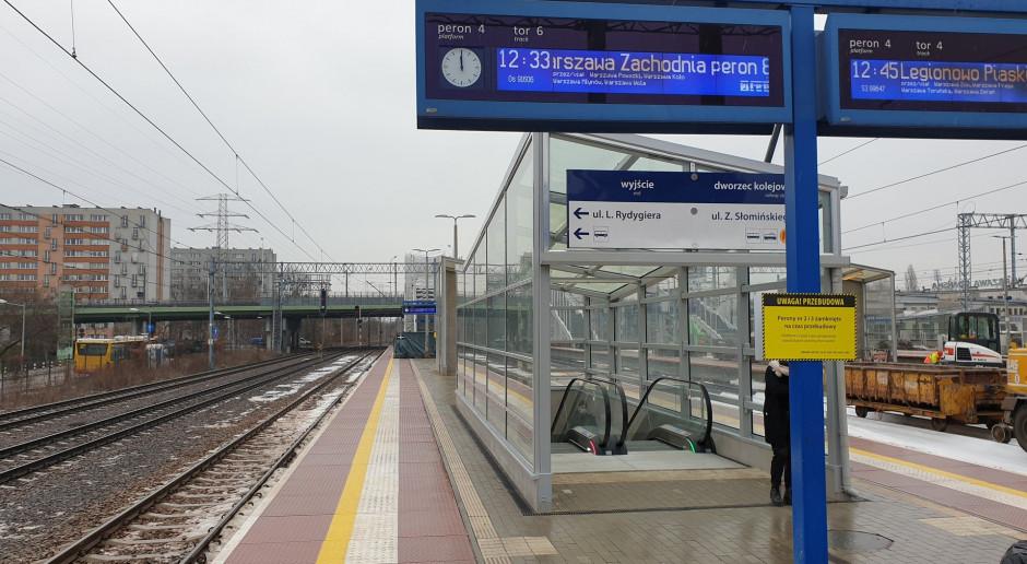 Ważny warszawski dworzec kolejowy rozbudowywany