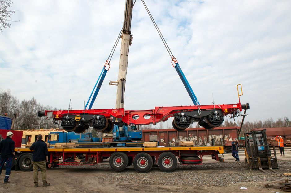 Wyprodukowane w rybnickim warsztacie DB Cargo Polska wagony łączą w sobie wielofunkcyjność i modułowość. Fot. Mat. pras. DB Cargo Polska.
