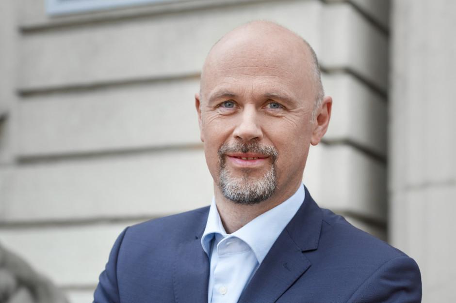 Thomas Hesse, członek zarządu DB Cargo Polska. Fot. Mat. pras. DB Cargo Polska.