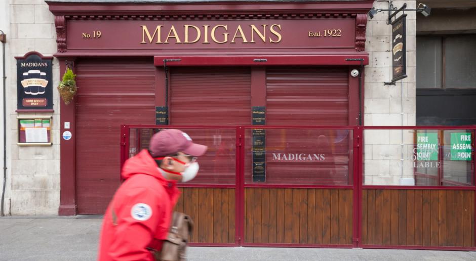 Irlandia: do pubu i restauracji tylko z certyfikatem