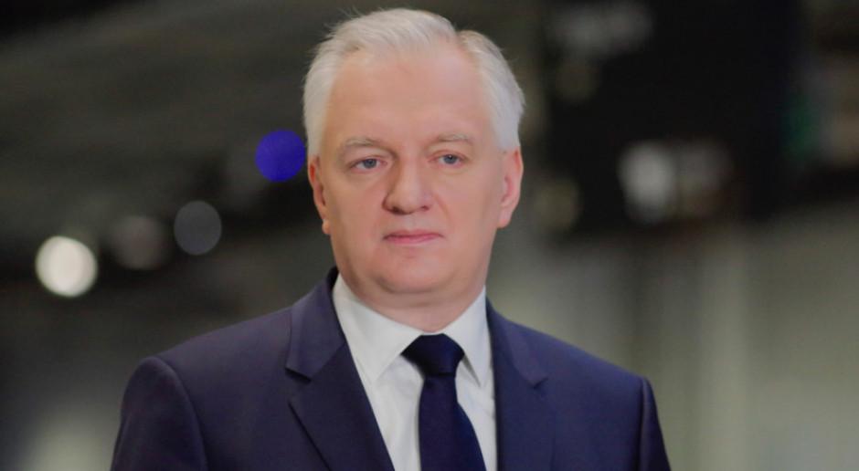 Jarosław Gowin: poziom bezrobocia będzie zależał od stanu gospodarki