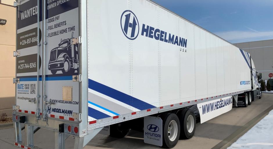 Hegelmann wjeżdża do USA. Na początek 10 ciężarówek