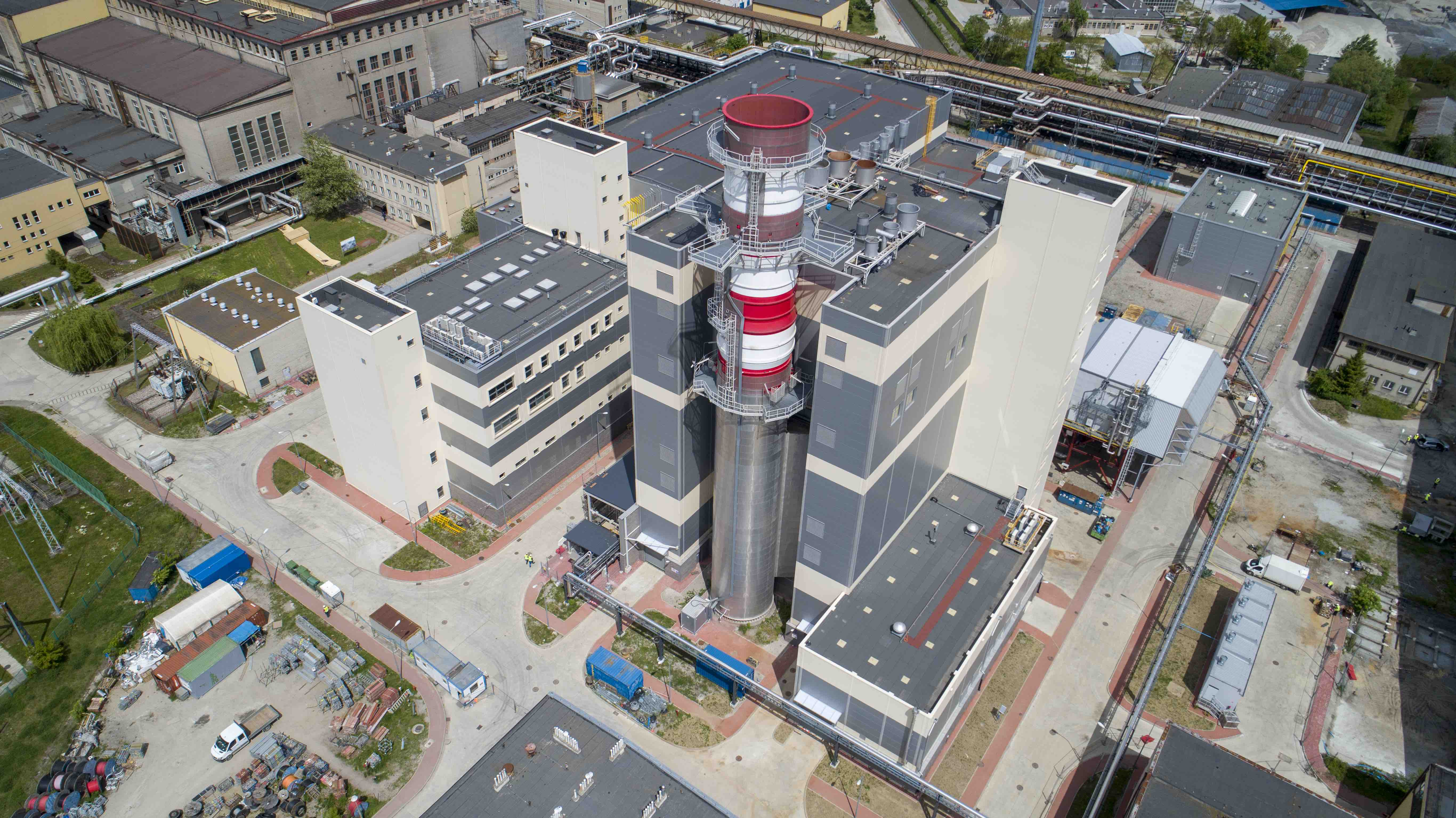 Nowy blok gazowo-parowy EC Stalowa Wola (Fot. mat. pras. Tauron Polska Energia)