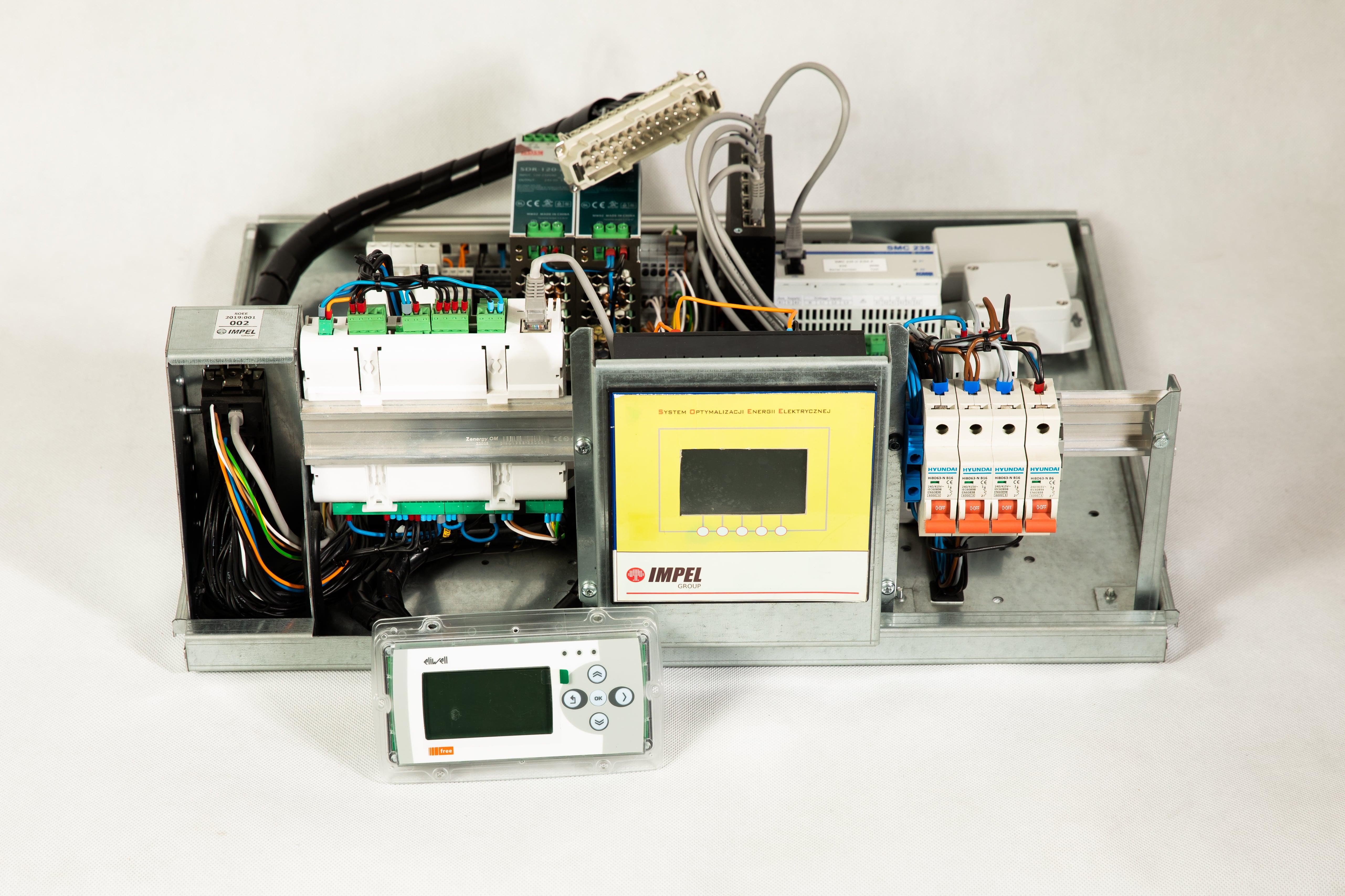 Instalacja pomiarowa systemu SOEE. Fot. Impel