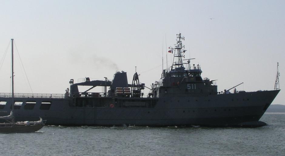 """Gdynia: ORP """"Kadm. Xawery Czernicki"""" przekazany do Marynarki Wojennej po kompleksowym remoncie"""
