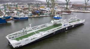 Stocznia Remontowa Shipbuilding przekazała armatorowi prom hybrydowy