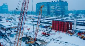 Warszawa Zachodnia: zima nie spowalnia prac