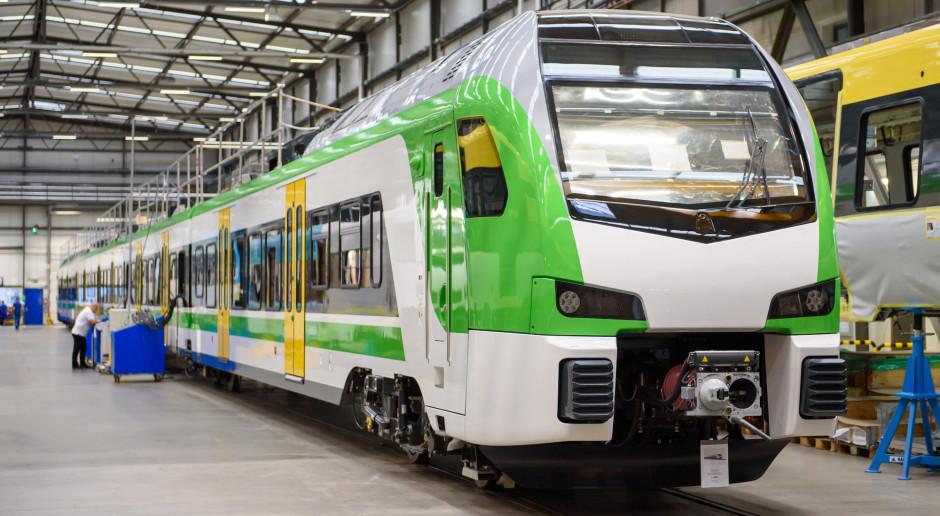 Stadler Polska: aluminiowe pociągi potrzebują mniej prądu