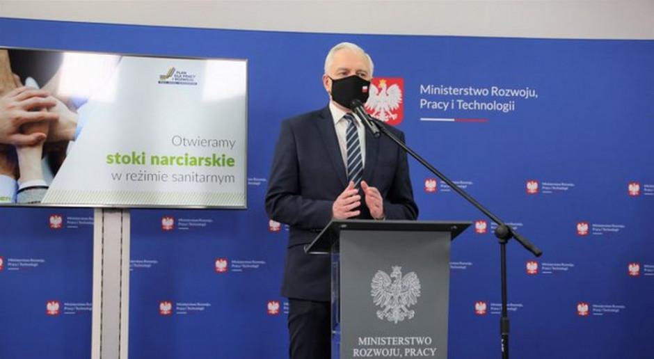 Jarosław Gowin: pomoc finansowa dla firm może być szersza. Bedą nowe rozporządzenia